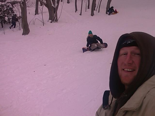 Sledding & Snowboarding